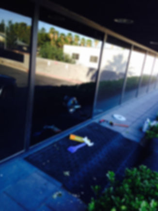 Commercial Window Glass Replaced Las Vegas
