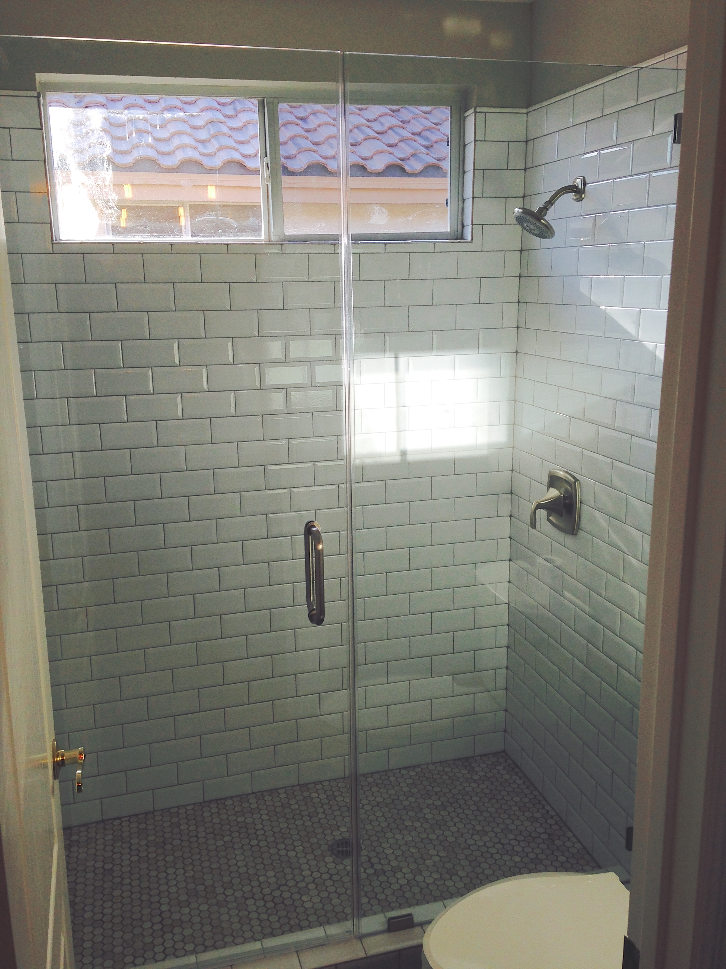 New Shower Glass Install Las Vegas