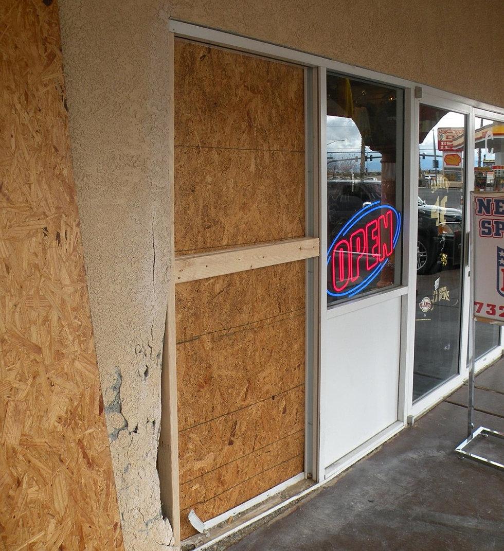 Commercial Glass Repair Las Vegas Sliding Patio Door Storefront Fix