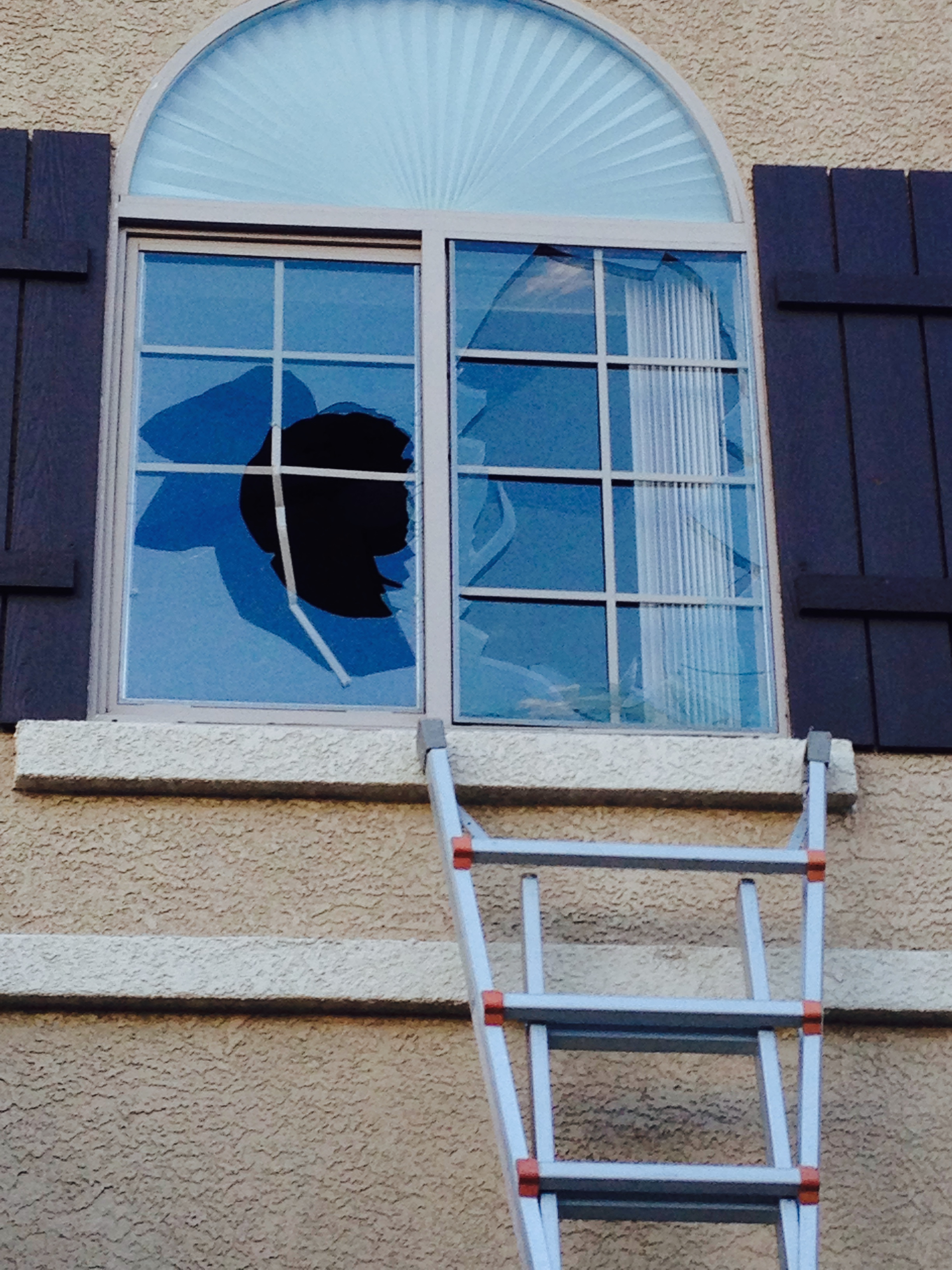 Broken Window Glass Fixed Las Vegas