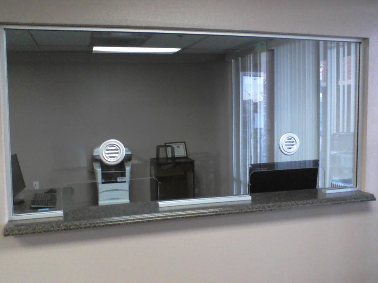 Office Window Glass Installation