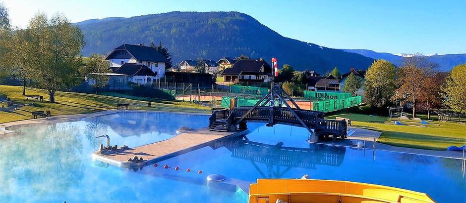 Das Erlebnisbad Mauterndorf ist geöffnet! Wassertemperatur: 24 Grad