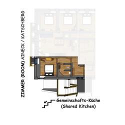 Grundriss Zimmer Aineck u Katschberg