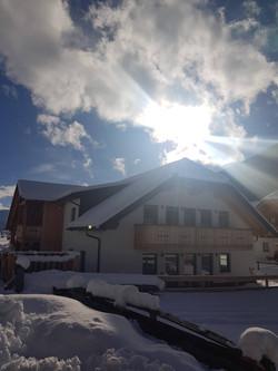 David Suiten Winter Sonne und Schnee