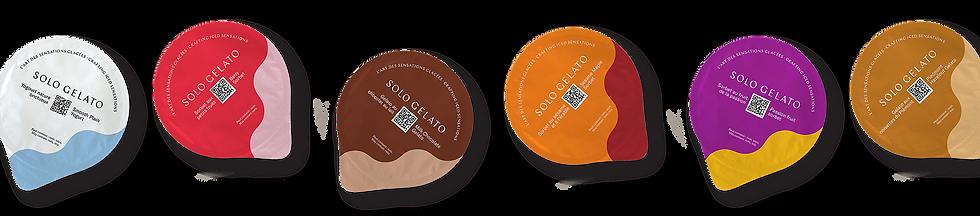 random Solo Gelato flavour capsules