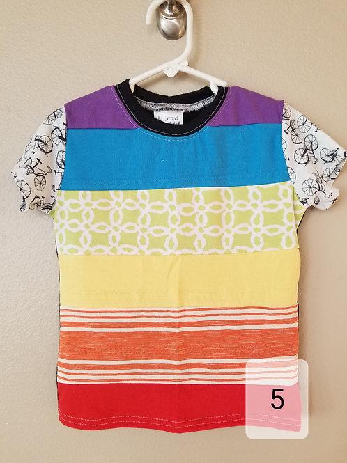 Rainbow Bicycle Shirt