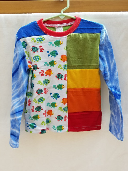 Rainvow Fish Tie Dye