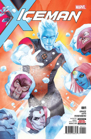 Marvel Comics' Gay Iceman Cometh