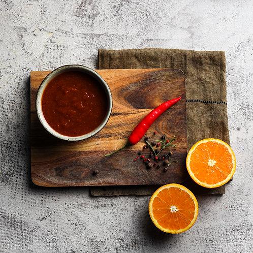 Apelsinų padažas (0,250 kg.)