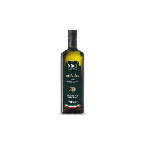 Alyvuogių aliejus Gli Esclusivi Extra Virgin, DeCecco (0,75 L)