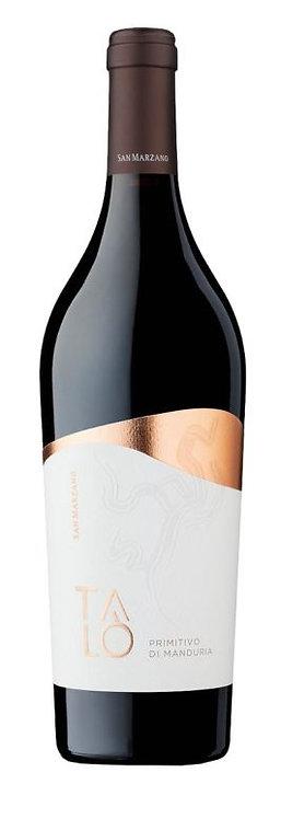 "Raudonas vynas""CANTINE SAN MARZANO Talo Primitivo di Manduria D.O.P. (750 ml)"