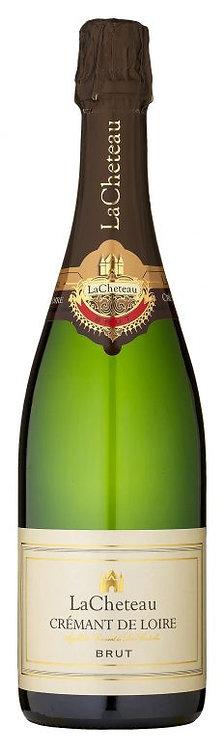 """Putojantis vynas  """"LaCheteau Brut Cremant de Loire"""" ( 750 ml)"""