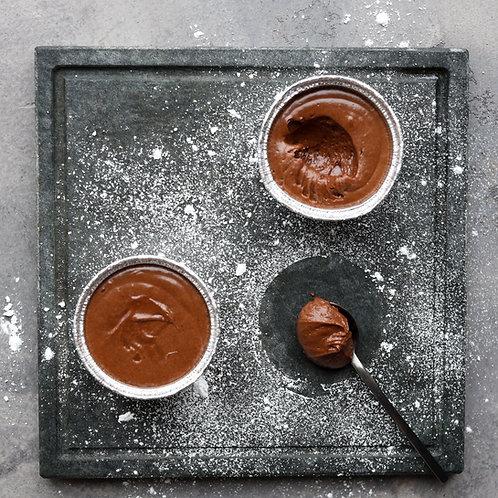 Šokoladinis suflė (paruoštas kepti) (1 vnt)