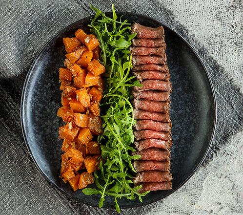 Jautienos rostbifas su aromatingom moliūgų salotomis (0,2 kg)