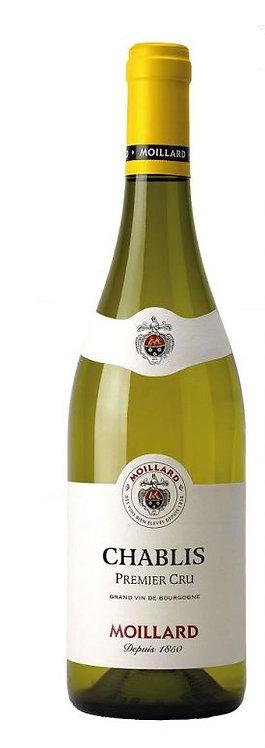Vynas (balt) MOILLARD Premier Cru Chablis A.O.P. (750ml)