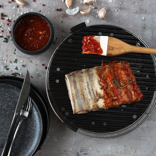 Mėsingi kiaulienos šonkauliai (paruošti kepti) (0.5 kg)