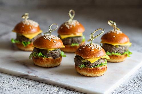 Mini burgeriukai su jautiena  (5vnt.)