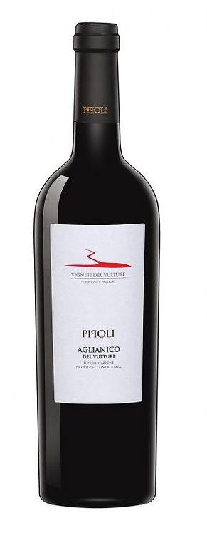 """Raudonas vynas""""VIGNETI DEL VULTURE Pipoli Aglianico del Vulture D.O.C."""" (750ml)"""