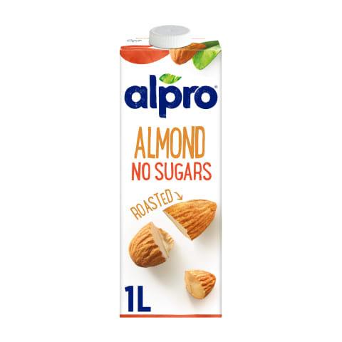 Nesaldintas migdolų gėrimas ALPRO (1litras)