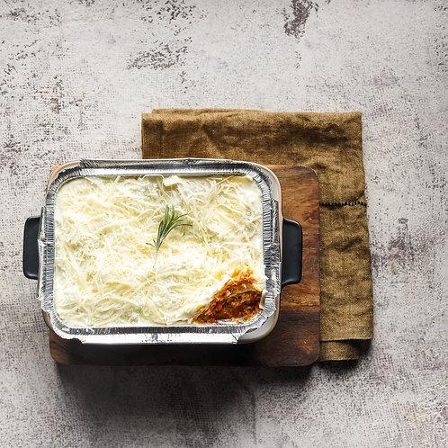 Lazanija Bolognese (paruošta kepti 2 porcijos)