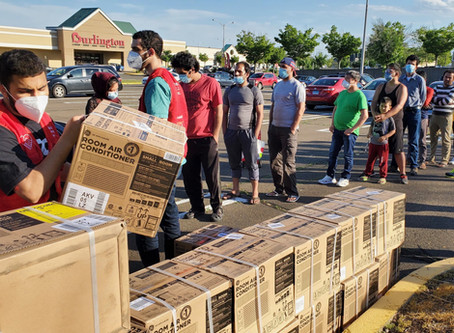 Elena's Light Joins Muslims Giving Back to Donate Air Conditioners to Families in Need