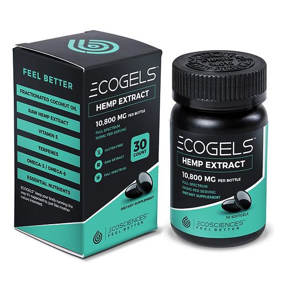 EcoGels CBD Gel Capsules