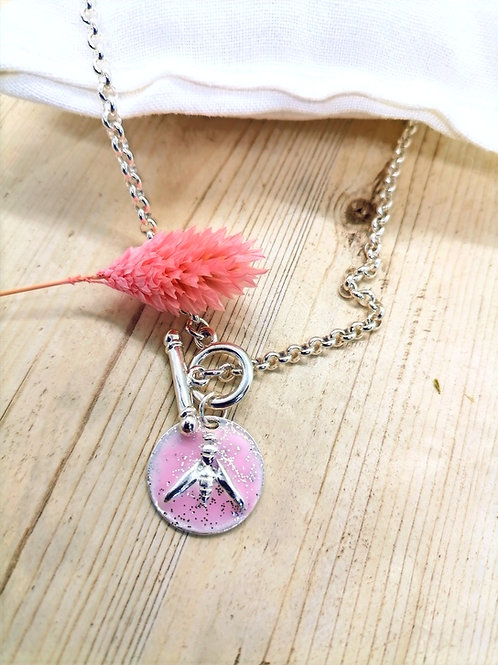 Collier Lupin Rose