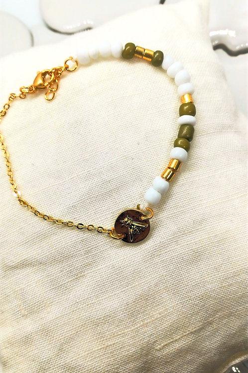 Bracelet Lys Blanc