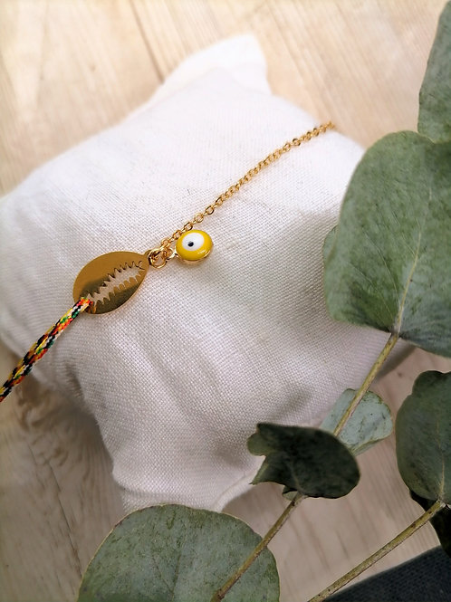 Bracelet Dahlia Or Multicolor