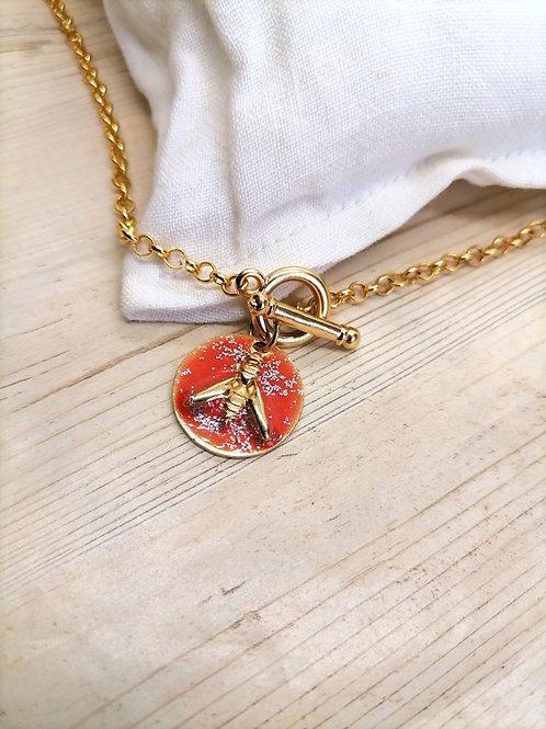 Collier Lupin Orange