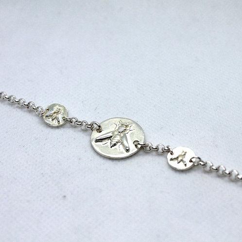 Bracelet Méllifère Argent
