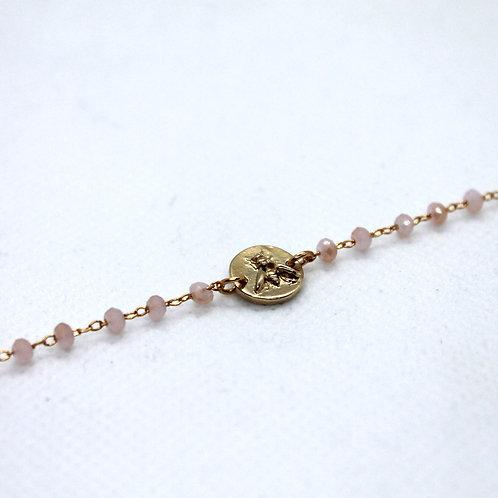 Bracelet Capucine rose