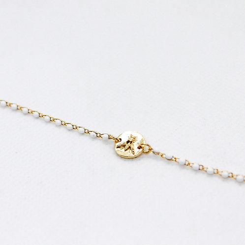 Bracelet Osier Blanc