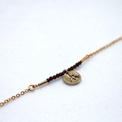 Bracelet Pivoine chaine