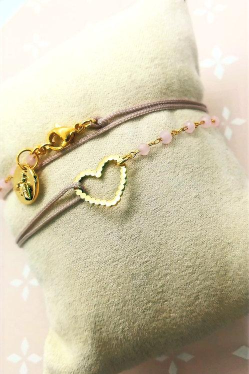 Bracelet Unique Coeur