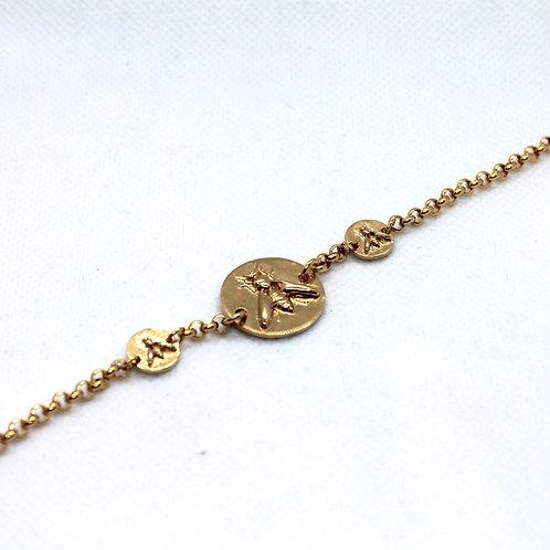 Bracelet Méllifère Or