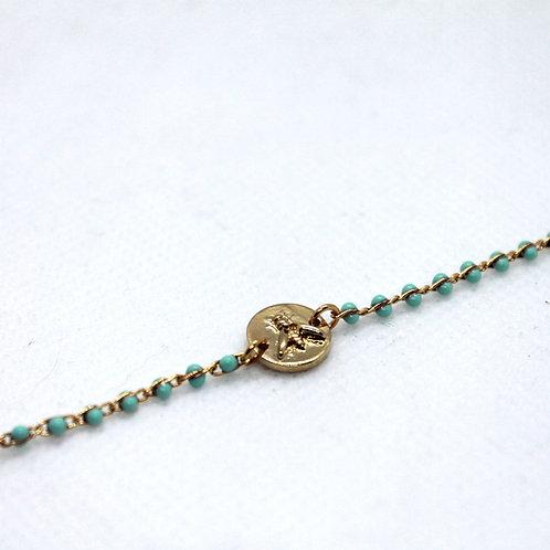 Bracelet Osier bleu