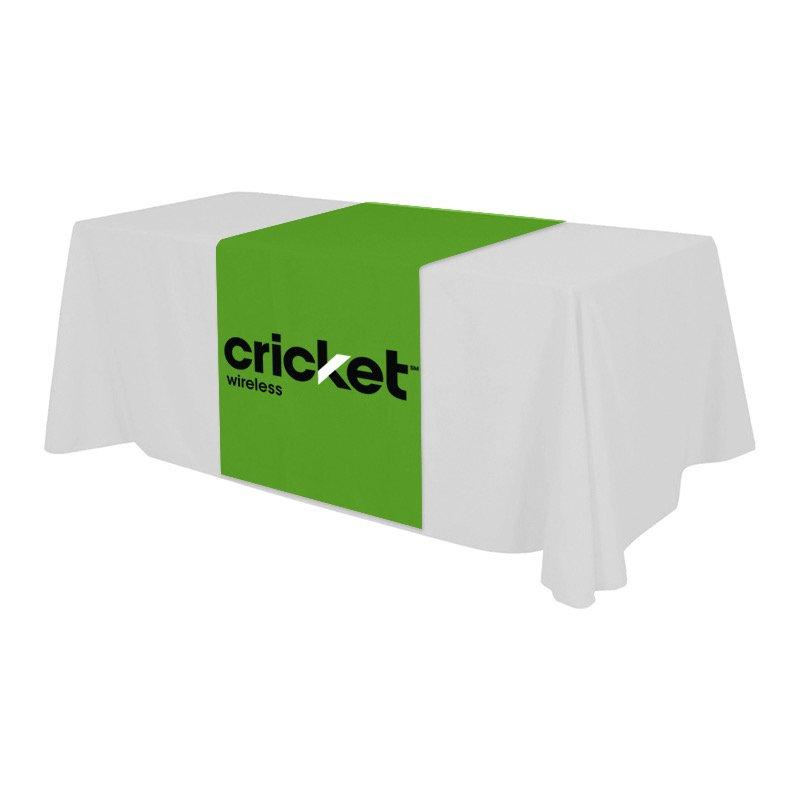 Table runner w/design 4ftx6ft