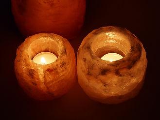 Лампа от хималайска сол