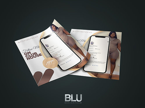 CUSTOMIZED CLUBHOUSE INVITE TEMPLATE