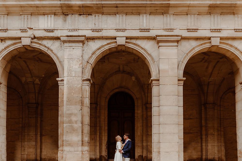 un mariage à Caen