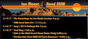 Ian Moore Band 2017 SXSW