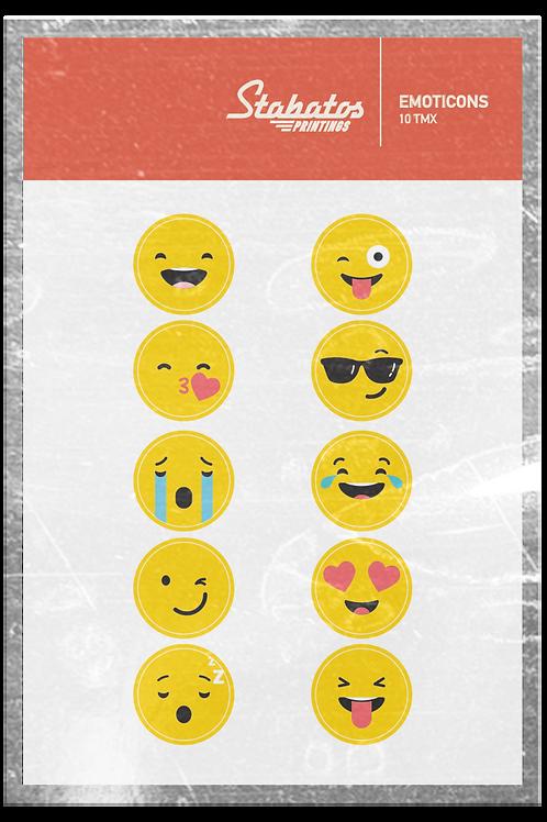Αυτοκόλλητα Emoticons