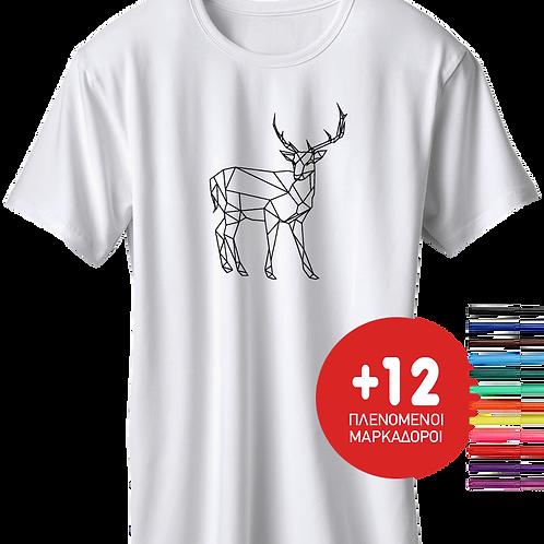 Deer + Δώρο 12 Μαρκαδόροι