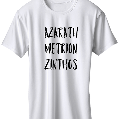 Teen Titans - Azarath Metrion Zinthos