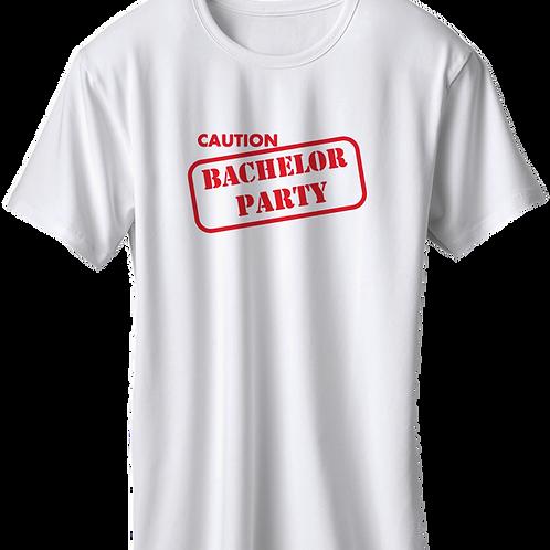 Caution Bachelor Party