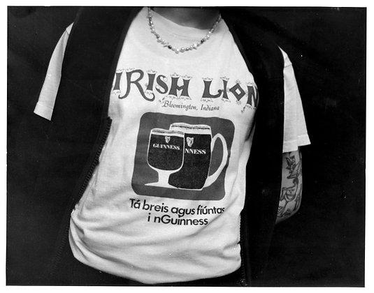 """'Irish Lion' - 8"""" x 10"""""""