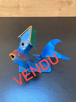 """VENDU - """"Petit poisson maison"""""""