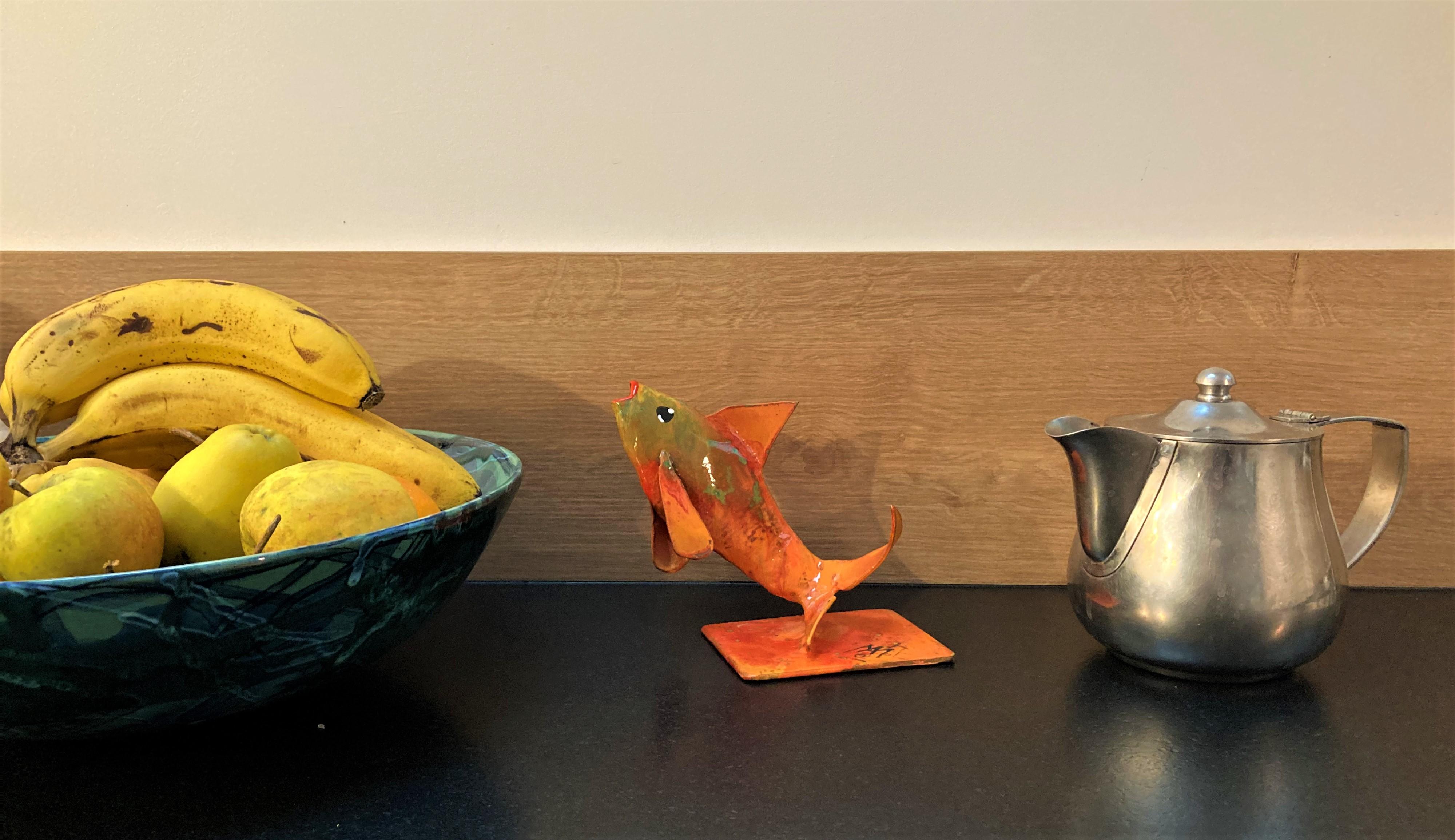 """""""Petit poisson sur socle"""" - n°201"""