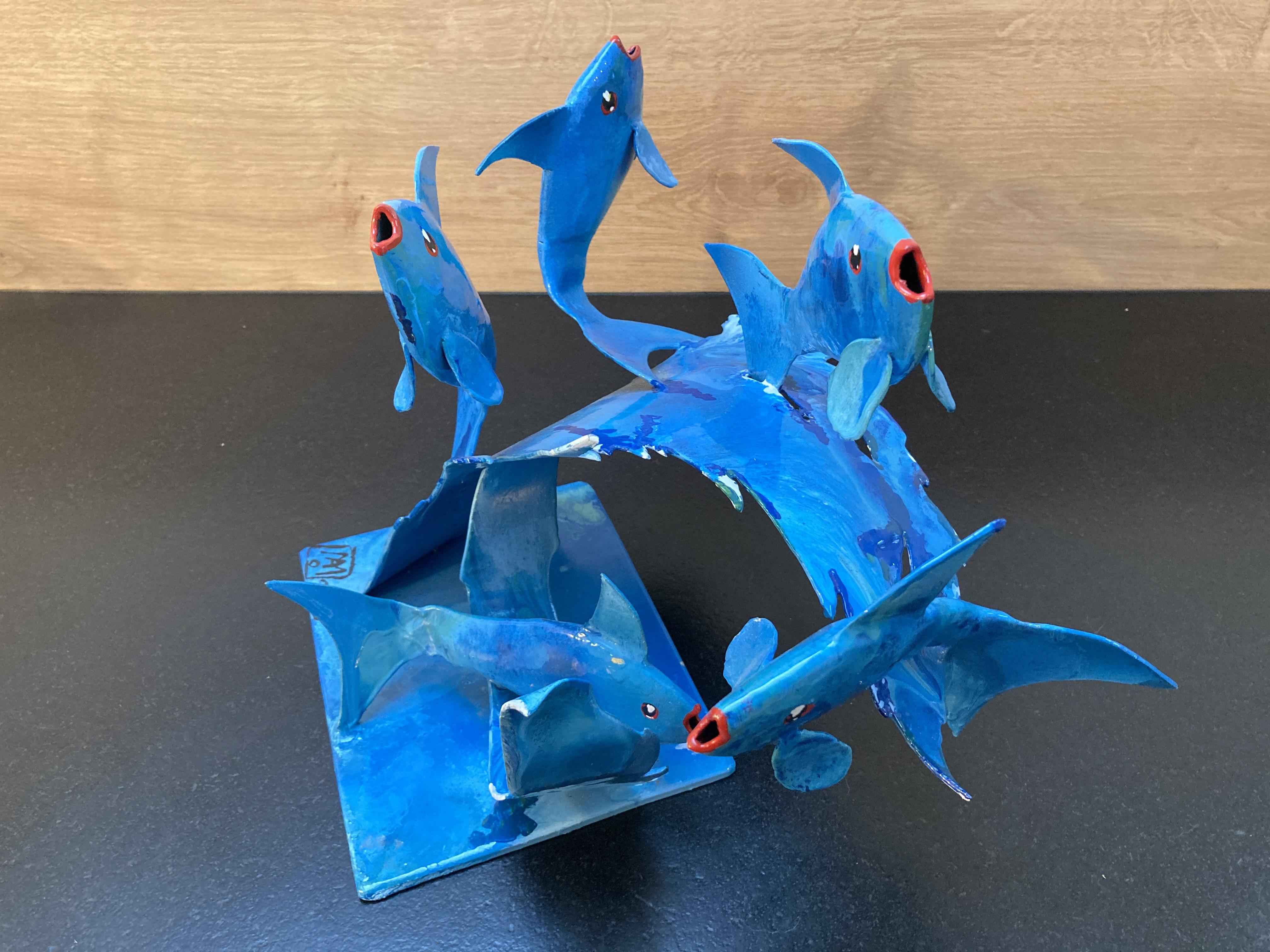 """Banc de poissons"" - n°211"
